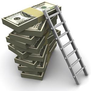 bigstock-Ladder-On-Money-3203616